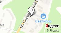 Брянскгеология на карте