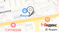 Тверь-Дент на карте