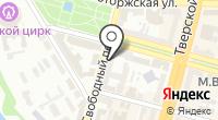 Ютас на карте