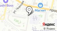 Огонёк на карте