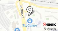 Салют-16 на карте