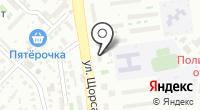 Сантех-Холл на карте