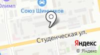 Белпрофильметалл на карте