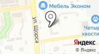 Монблан на карте