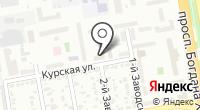 Дона на карте