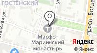 Марфо-Мариинский женский монастырь на карте