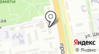 Общежитие №14 на карте
