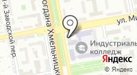 Красный шар Плюс на карте