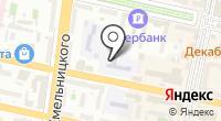 Средняя общеобразовательная школа №19 им. В.М. Казанцева на карте