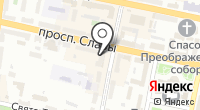 Бризоль на карте
