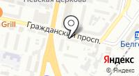 Хатбер на карте