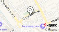 Зиридис на карте