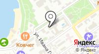 Санаторий на карте