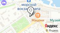 Застава на карте