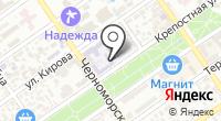АСТ на карте