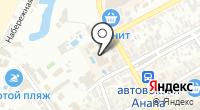 Анапчанка на карте