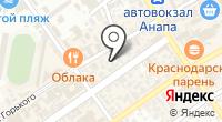 Анапафармация на карте