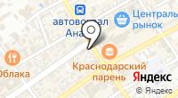 SNR на карте