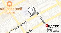Эжени на карте