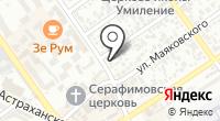 Антел на карте