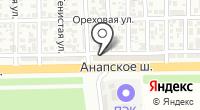 Золотая колесница на карте
