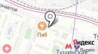 Магазин швейной фурнитуры на Стратонавтов проезде на карте