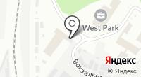 Виса-М на карте