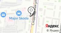 СДЮСШОР №101 на карте