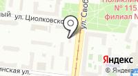 Филиал №22 Уголовно-исполнительной инспекции УФСИН России по г. Москве на карте