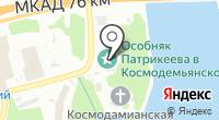Химкинская центральная городская больница на карте