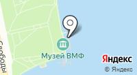 Музейно-мемориальный комплекс истории ВМФ России на карте