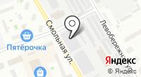 Гаражно-строительный кооператив №35 на карте