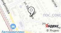 Селрус на карте