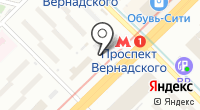 Станция Проспект Вернадского на карте