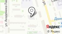На Дирижабельной на карте