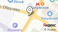 Станция Калужская на карте