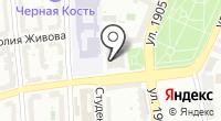 Ермакова на карте
