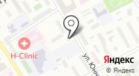 Инсервис на карте