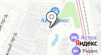 Азимут-авто на карте