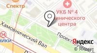 Военная комендатура г. Москвы на карте