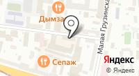 Эллара на карте