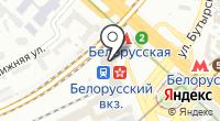 Аэроэкспресс на карте
