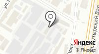 Паликор на карте