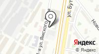 Автомойка на Ямского Поля 1-й на карте