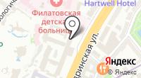 Федеральная антимонопольная служба РФ на карте