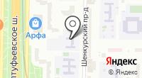 Средняя общеобразовательная школа №388 на карте