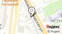 Барс-Х на карте