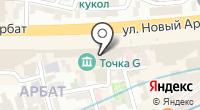 Московское выставочно-конгрессное агентство на карте