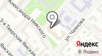 Департамент финансов г. Москвы на карте