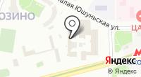Военный комиссариат Московской области на карте